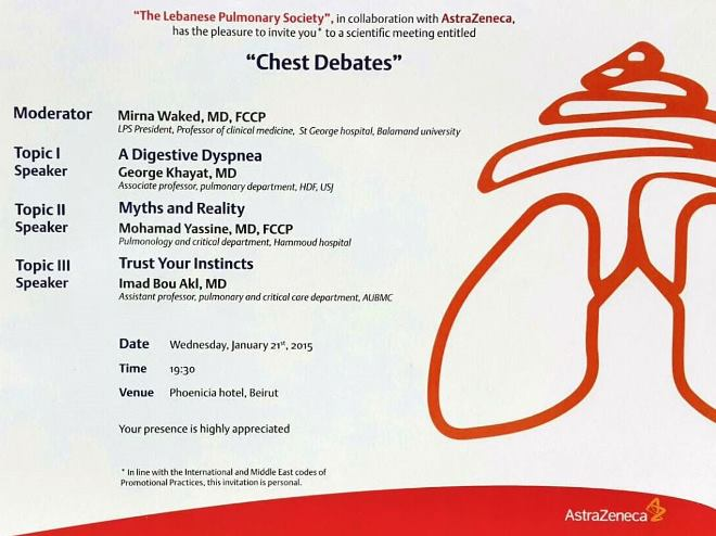 Chest Debates - 21 January 2015