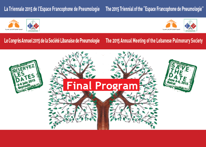 Click on the image to open the revised final program of AM 2015